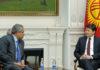 Сапар Исаков обсудил перспективы сотрудничества с индийскими инвесторами