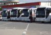 В Бишкеке все автобусы вышли на линии. Но в зимние шины их еще не «переобули»