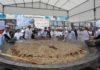 Приготовленный в Бишкеке 1,5 тонный бешбармак попала в Книгу рекордов Гиннесса