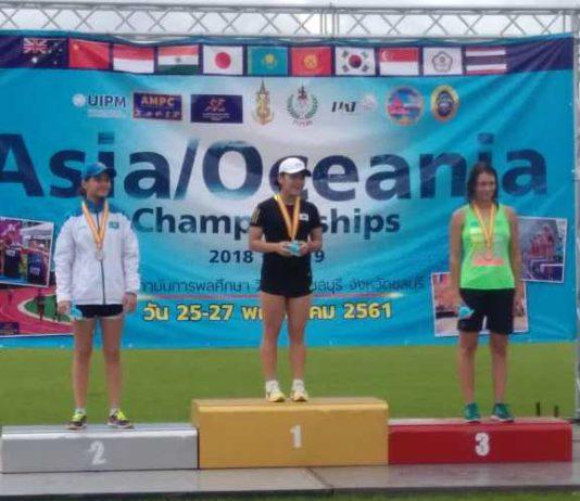 Спортсменка из Кыргызстана завоевала «бронзу» на престижных международных соревнованиях по пятиборью