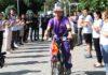 Житель Оша совершает велопробег по маршруту Кыргызстан — Узбекистан