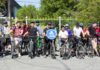 В день города состоялся девятый ежегодный велопробег в Альплагере
