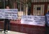 Возле здания Горсуда в Бишкеке собралось около 100 человек в поддержку Самакова (фото)