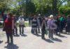 Митингующие за трансформацию земель обвинили правительство Кыргызстана в обмане (видео)