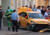 Кыргызстанец, наехавший на пешеходов в Москве, заснул за рулем