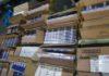 Контрабанду сигарет на 678 тыс. сомов задержали в аэропорту «Манас»