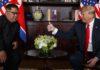 Трамп отметил «значительный прогресс» на переговорах с Ким Чен Ыном
