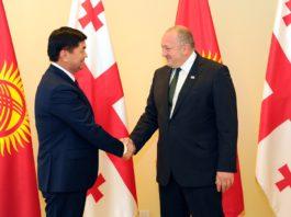Абылгазиев пригласил президента Грузии принять участие в открытии III Всемирных игр кочевников