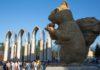 Скульптурный шок: 12 -метровая соломенная белка вызывает негодование у алматинцев