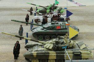 Кыргызстан находится на четвертом месте по количеству танков в Центральной Азии