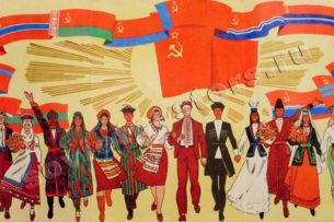 Во время марша за права женщин в Бишкеке был поднят флаг СССР — СМИ
