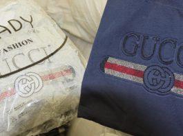 В Омск пытались ввезти одежду Gucci и Chanel, сделанную в Кыргызстане