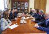 Делегация СДПК встретилась с коллегами из политической партии «Справедливая Россия»