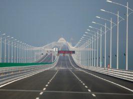 В Китае открыли самый длинный морской мост. Фото