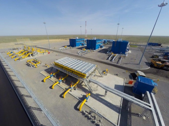 Казахстан экспорт газ китай