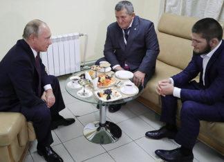 «Выиграл достойно и убедительно»: Путин лично поздравил Нурмагомедова с успешной защитой чемпионского титула