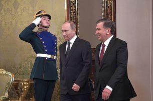 Президенты России и Узбекистана обсудили события на кыргызско-таджикской границе