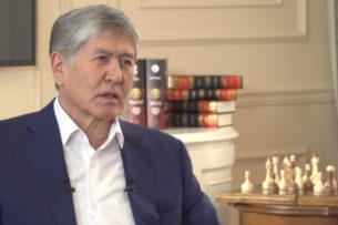 Алмазбек Атамбаев: Мне нечего скрывать, я достиг материального благополучия честным трудом