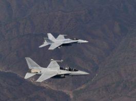 В небе над Японией столкнулись два военных американских самолета