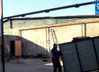В Бишкеке снесли незаконно работающую СТО