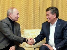 Зачем встречались Жээнбеков и Путин?