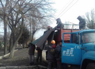 В Бишкеке снесли свадебный салон