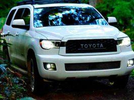 Toyota показала мощный внедорожник Sequoia TRD Pro