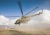 Вертолетчики российской авиабазы Кант нанесли бомбовый удар по объектам условного противника