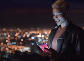 Samsung случайно показал смартфон со складным экраном