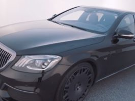 Brabus представил видео-тизер 900-сильного Mercedes-Maybach S650