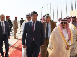Мухаммедкалый Абылгазиев прибыл на закрытие этнофестиваля Camel Fest в Эр-Рияд