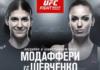 Роксанн Модаффери победила Антонину Шевченко на UFC Fight Night 149