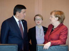 О чем говорили Сооронбай Жээнбеков с Федеральным канцлером ФРГ Ангелой Меркель