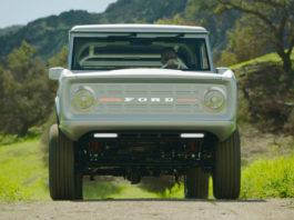 Показали первый в мире полностью электрический Ford Bronco