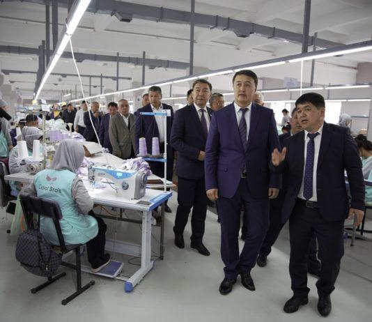 Замирбек Аскаров: Правительство окажет поддержку бизнес-проектам, нацеленных на развитие производства