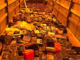 Таможенники Кыргызстана пресекли ввоз контрабанды аккумуляторов на более 900 тыс. сомов
