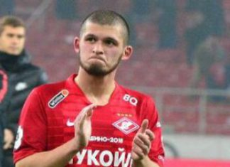 Опубликовано видео нападения футболиста «Спартака» Гулиева на пешехода
