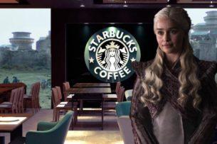 В новом эпизоде Игры Престолов нашли стакан с кофе из Starbucks