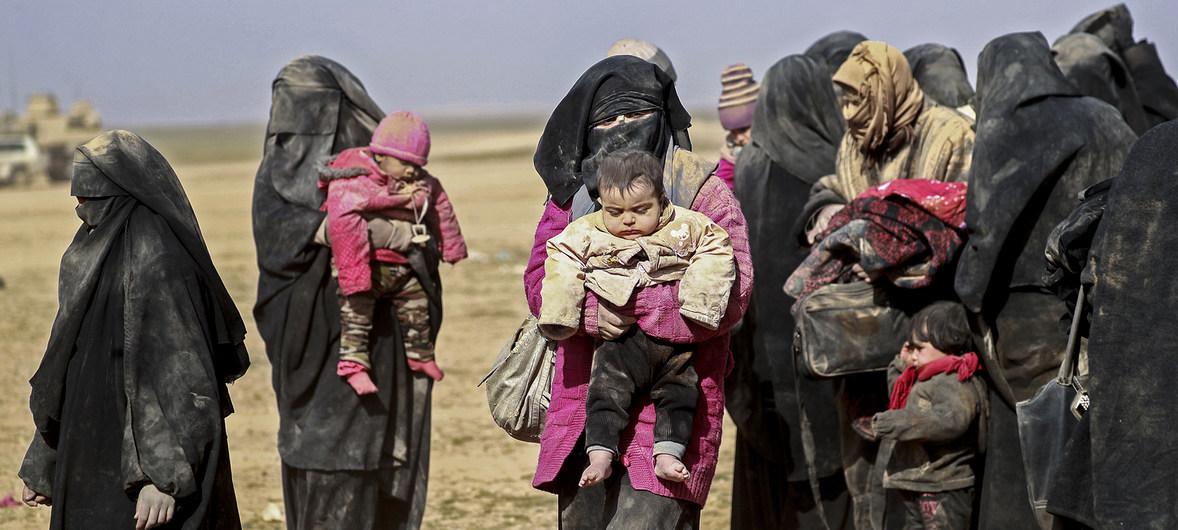 Детей, связанных с ИГИЛ, удерживают в секретных изоляторах Сирии и Ирака —  K-News