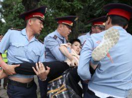 На митингах в Казахстане задержали около четырех тысяч человек