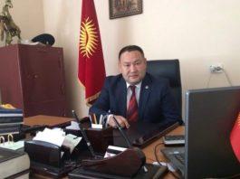 Алтынбек Намазалиев назначен полпредом правительства в Чуйской области