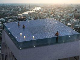 В Лондоне создали первый «бесконечный» бассейн