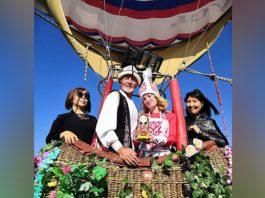 Свадьба на воздушном шаре: Как российский путешественник женился в Кыргызстане