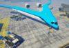 В проектируемом V-образном самолете пассажиров разместят в крыльях
