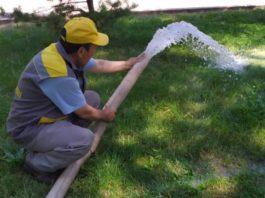 Бишкек получает поливную воду не в полном объёме