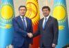 Премьер -министры Кыргызстана и Казахстана обсудили актуальные вопросы сотрудничества