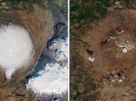 «Все наши ледники ожидает та же участь». В Исландии простились с ледником Окйекудль