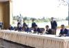 Состоялась торжественная церемония гашения марок, выпущенных к 5-летию подписания договора о ЕАЭС