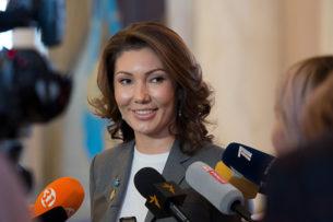 Как младшая дочь Назарбаева среагировала на смерть Айсултана Назарбаева