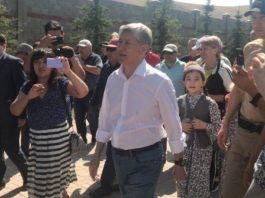 Атамбаев заявил о начале бессрочного митинга в Бишкеке с требованием отставки президента, правительства и парламента